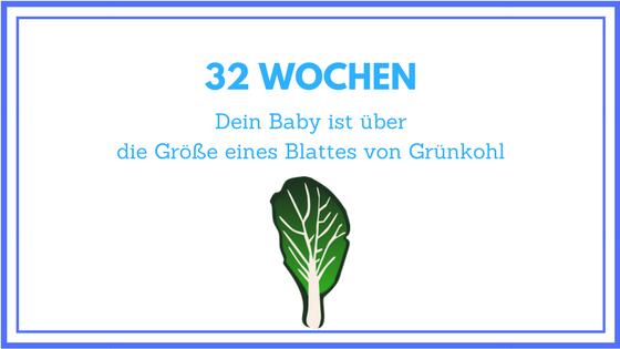 32 Wochen schwanger