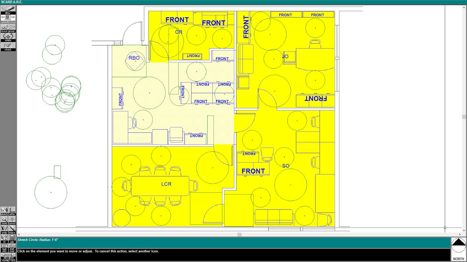Schematic Design Interior Layout ALT 3