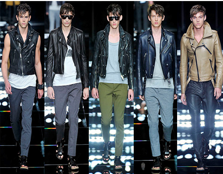 bea1588c80b7 The Burberry UK Prorsum 2011S   S MenThe selling point  Burberry Prorsum  tight pants and well-cut jacket while leather and suede.