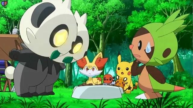 Pokémon XY – Episódio 11 – Perseguição no Bambuzal! Pancham e ...