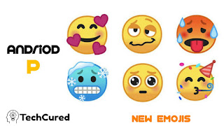 Android Pie 9.0 - Technology that helps but not distract   New emoticons   TechCured.com