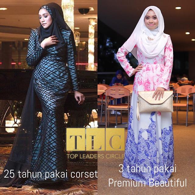 Premium Beautiful Corset : Langsing Dan Awet Muda