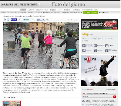cycling tours in naples corriere mezzogiorno newspaper