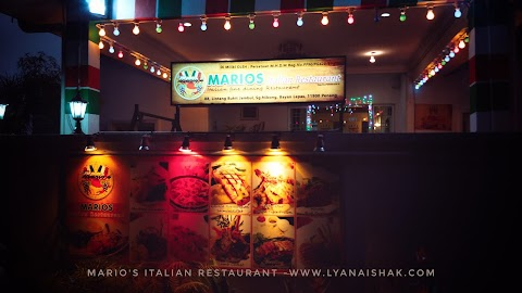 Pengalaman Makan Malam di Marios Italian Restaurant