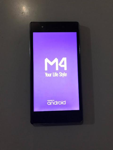 reiniciar teléfono M4 m2250a