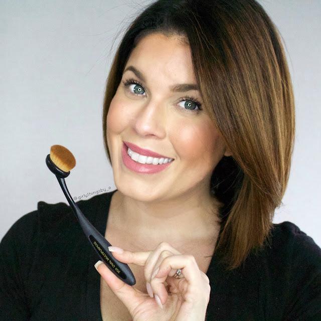 Bdellium Tools 950 Oval Multipurpose brush, @girltyhingsby_e