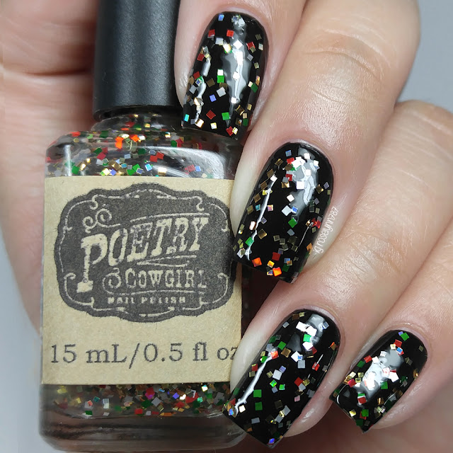 Poetry Cowgirl Nail Polish - Tinsel