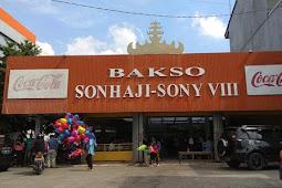 Bakso Sony Lampung, Bakso Enak dari Lampung