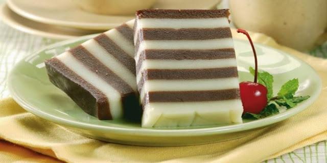 Kue lapis susu KUE enak serta lezat