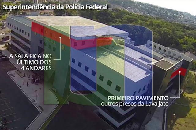 Resultado de imagem para ONDE LULA VAI cumprir pena em Curitiba