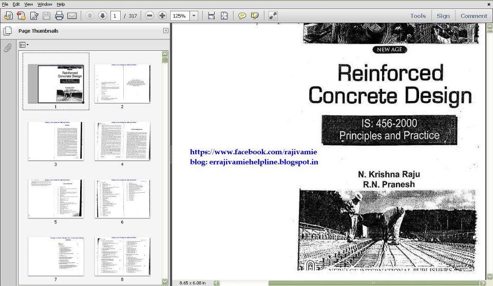 Rcc Design Lsm And Wsm Er Rajiv Amie