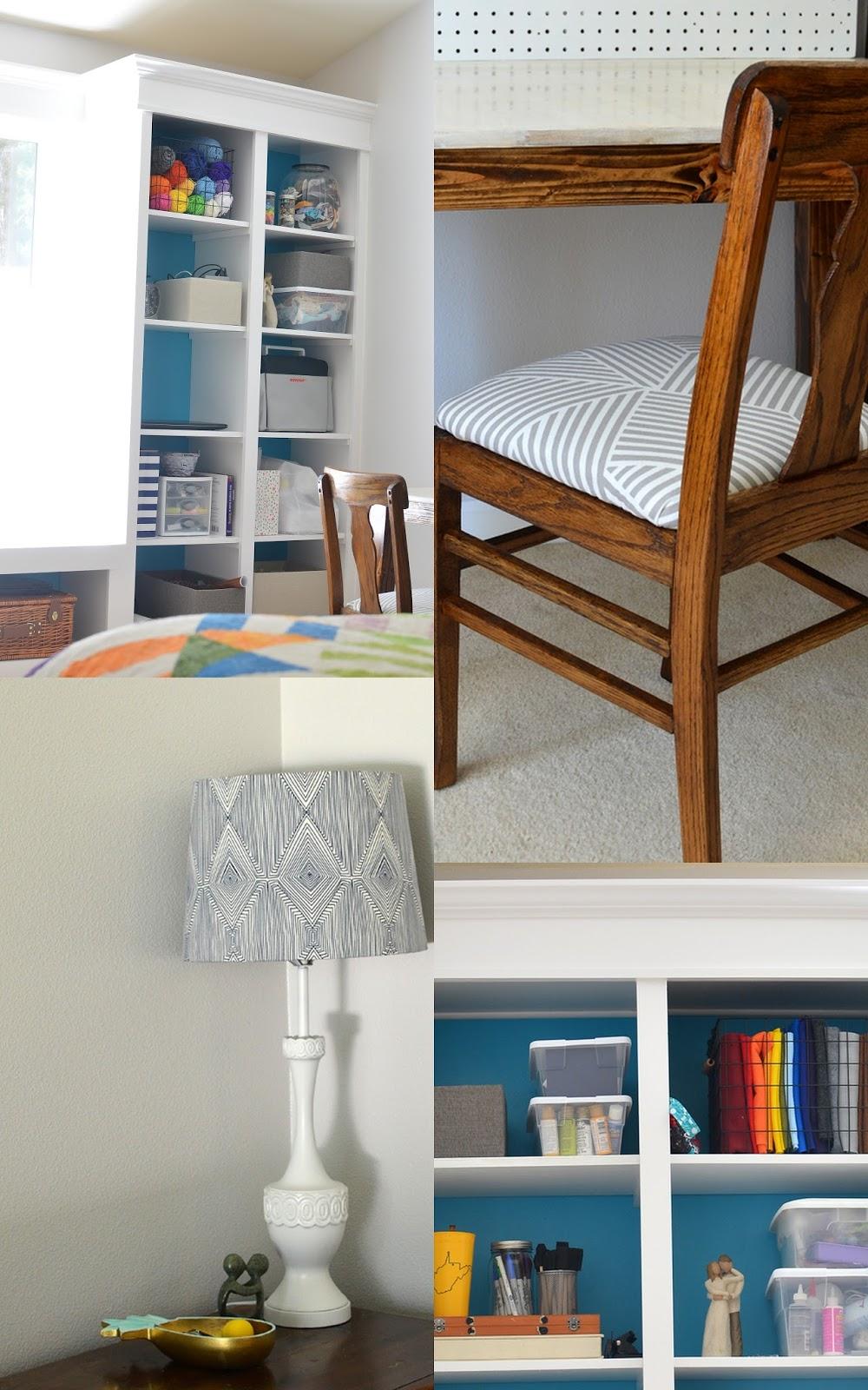 one room challenge: master bedroom/craft room