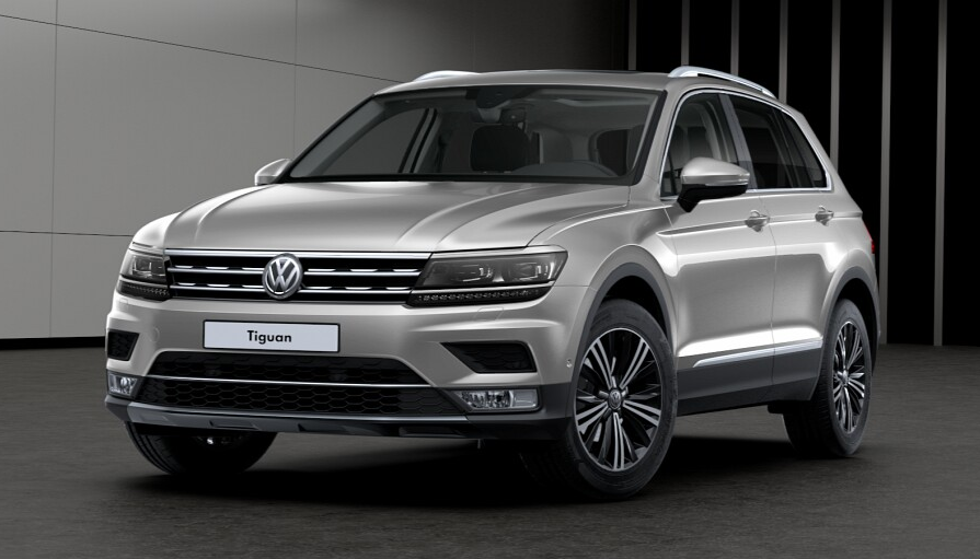 Volkswagen Tiguan Ii 2019 Couleurs Colors