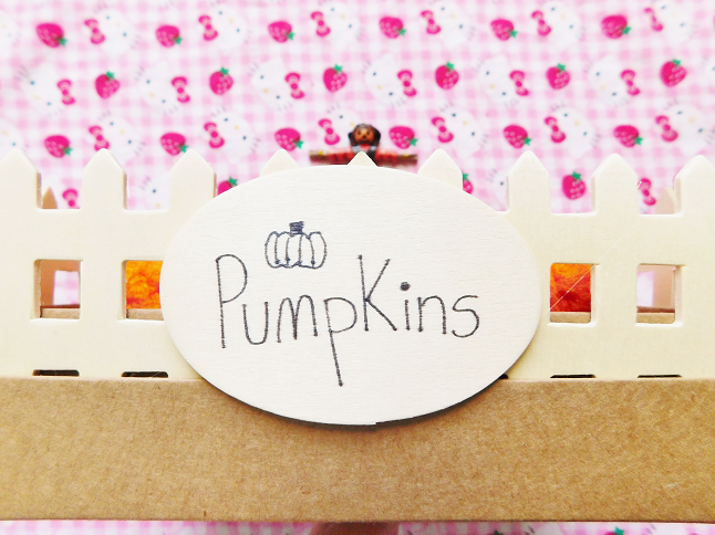 Pumpkin Patch Ring Holder