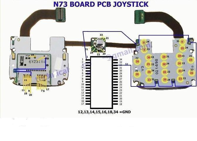 Nokia N73 Joystick Problem Picture Help