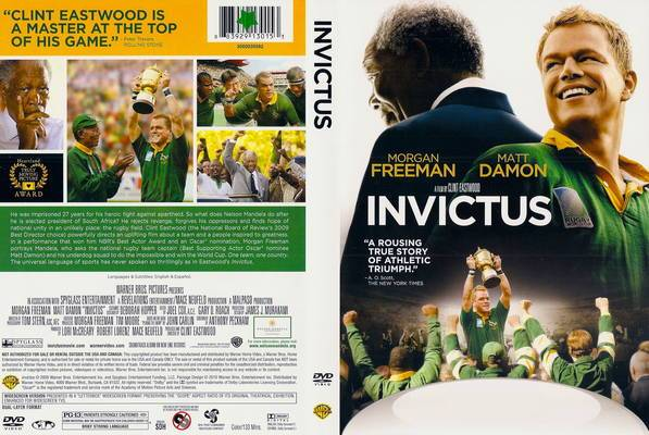 The Clint Eastwood Archive: INVICTUS DVD Review