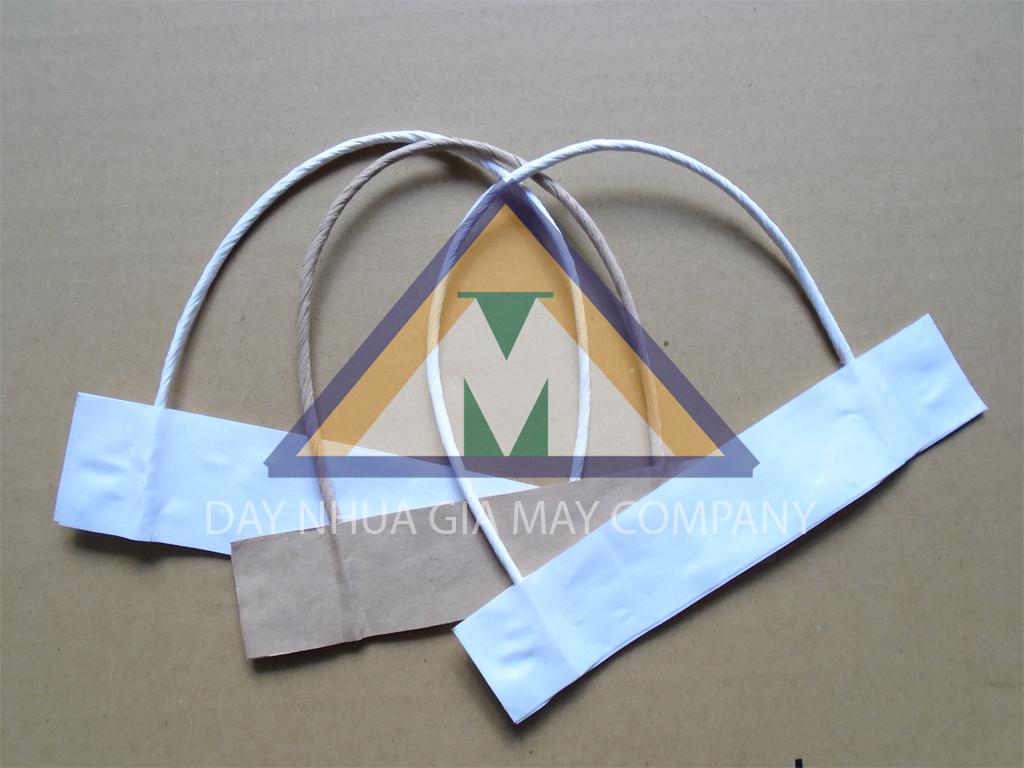 Dây giấy quai túi giấy kraft cho túi giấy