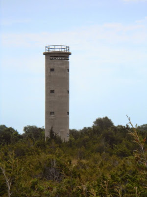 Cape May World War II Lookout Tower in New Jersey