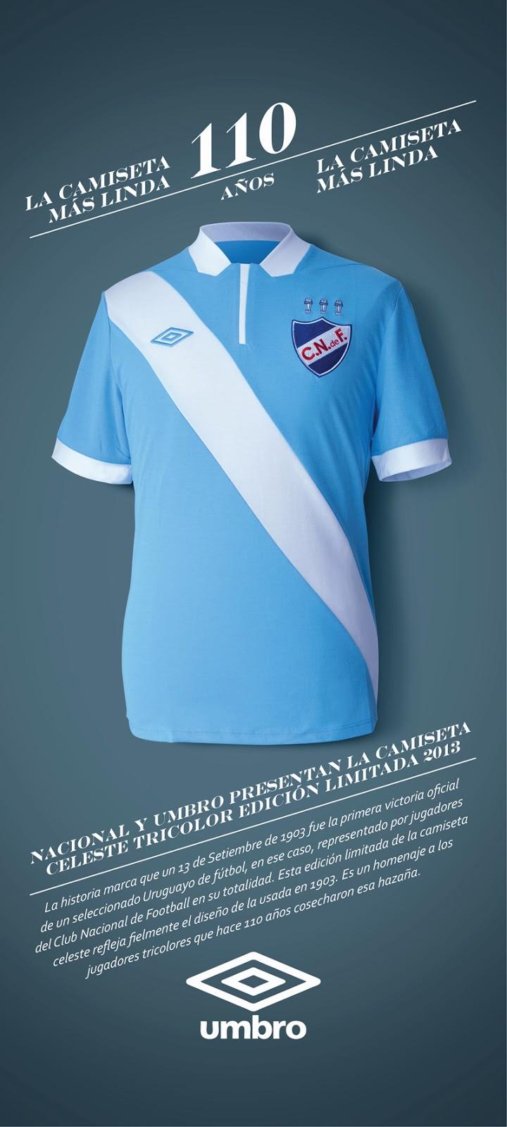 193ed61fbc Com um detalhe  todos os jogadores da equipe pertenciam ao Nacional de  Montevidéu. Para homenagear a data