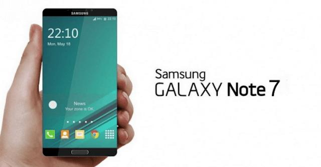 سامسونج تعلن رسميا عن هاتفها الذكى Galaxy Note7