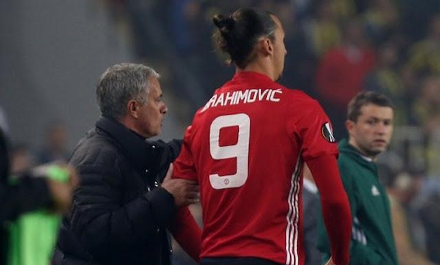 Mourinho Bangga Dengan Gol Yang Dicetak Ibrahimovic