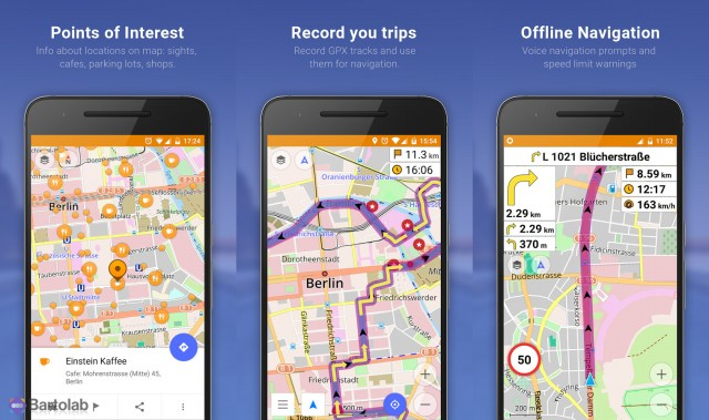 OsmAnd Maps Navigation Screenshots