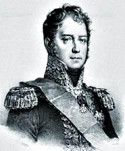 Michel Ney, litografía de François Le Villain, principios del siglo XIX