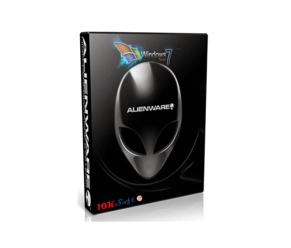 Windows 7 Alienware Blue Edition ISO Download