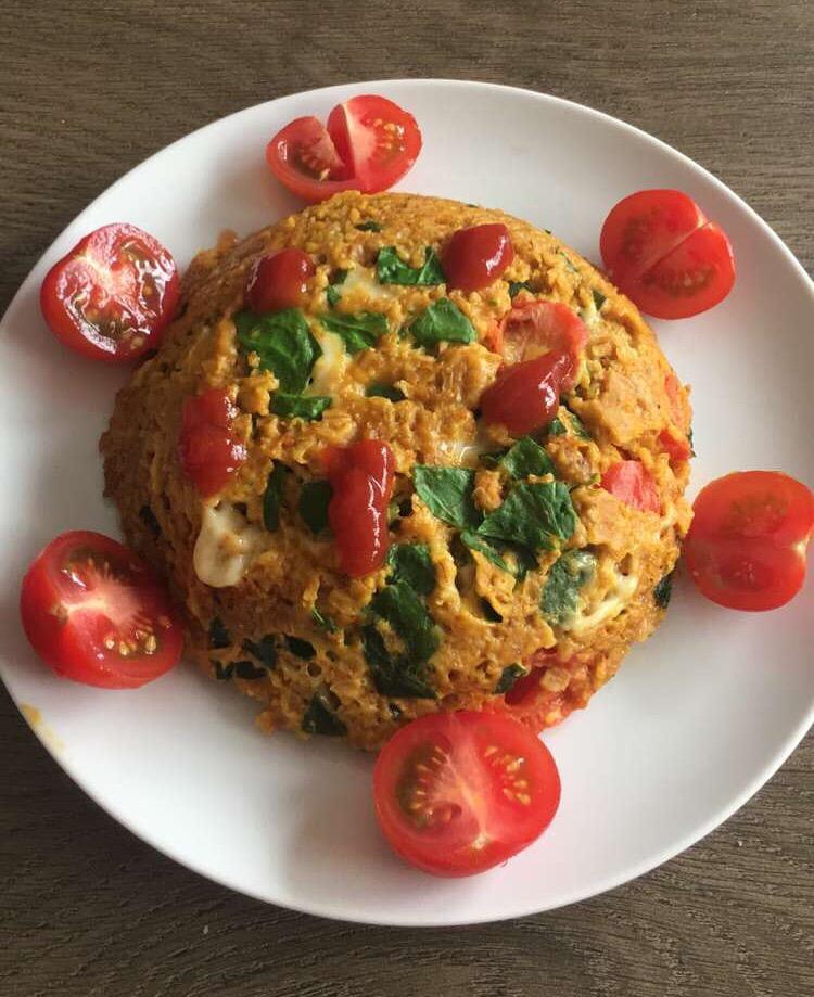 Bowl Cake Jambon Fromage