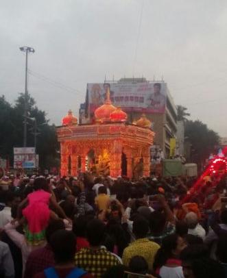 Pune Ganpati Visarjan 2016 Live