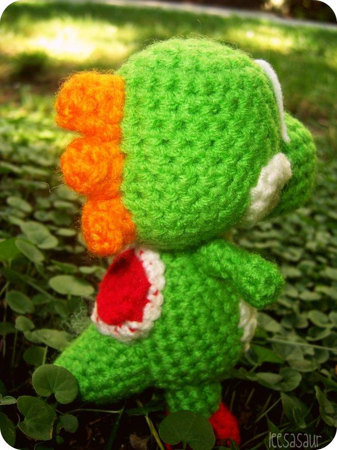 FDbyK4TT - Famous Dino CAL : Part I in 2020 | Crochet super mario ... | 922x691