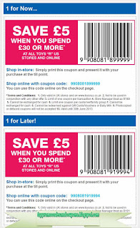 Free Printable Toys R Us Coupons