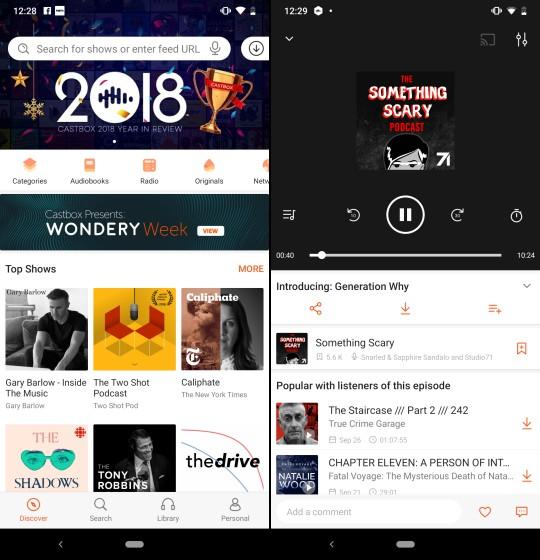 أفضل 5 تطبيقات Podcast للأندرويد
