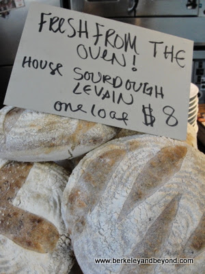 bread loaves for sale at Homestead in Oakland, CA