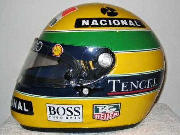 senna+capacete - Ayrton Senna - a nossa homenagem.