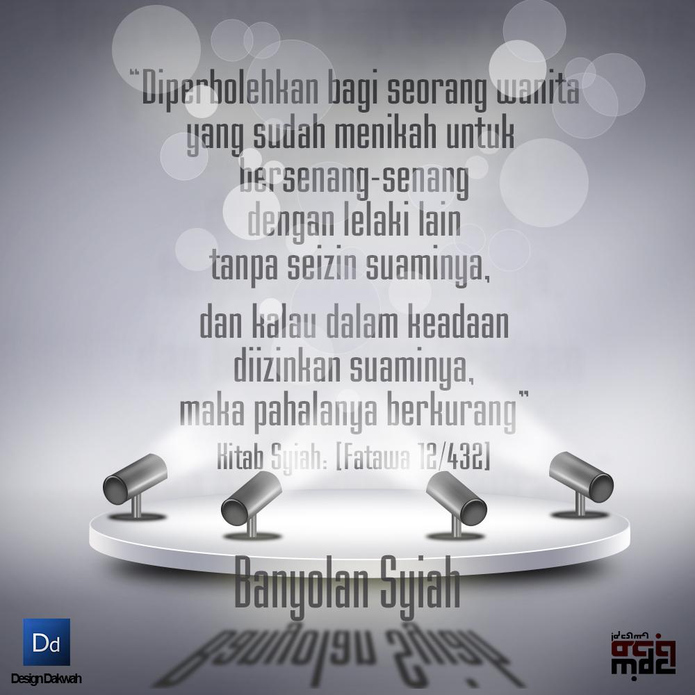 Quote Konyol Syiah Design Dakwah