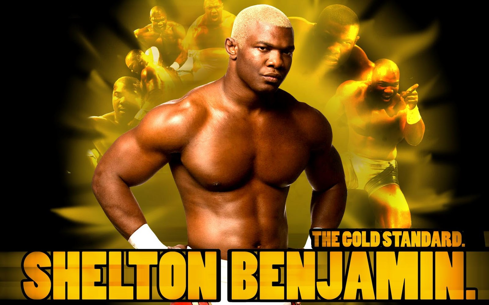 Shelton Benjamin-WWE HD WALLPAPERS