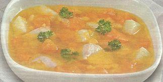 необходимые ингредиенты и способ приготовления супчика с тыквой