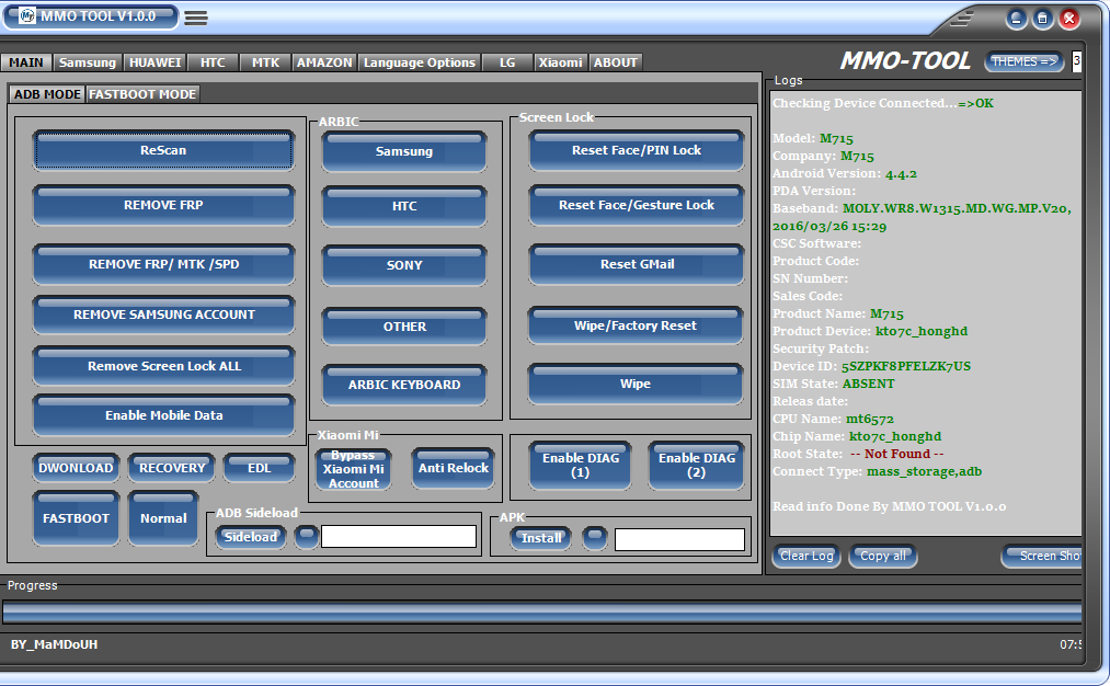 Mobile Firmware Free Download: MMO TOOL V1 0 0 FULL PORTABLE VERSION