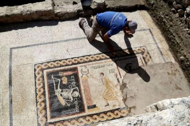 """Traje Baño Hombre Antiguo:Arqueólogos hallan el """"meme"""" más antiguo de la historia en Turquía"""