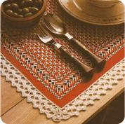 Puntilla para set de mesa a Crochet
