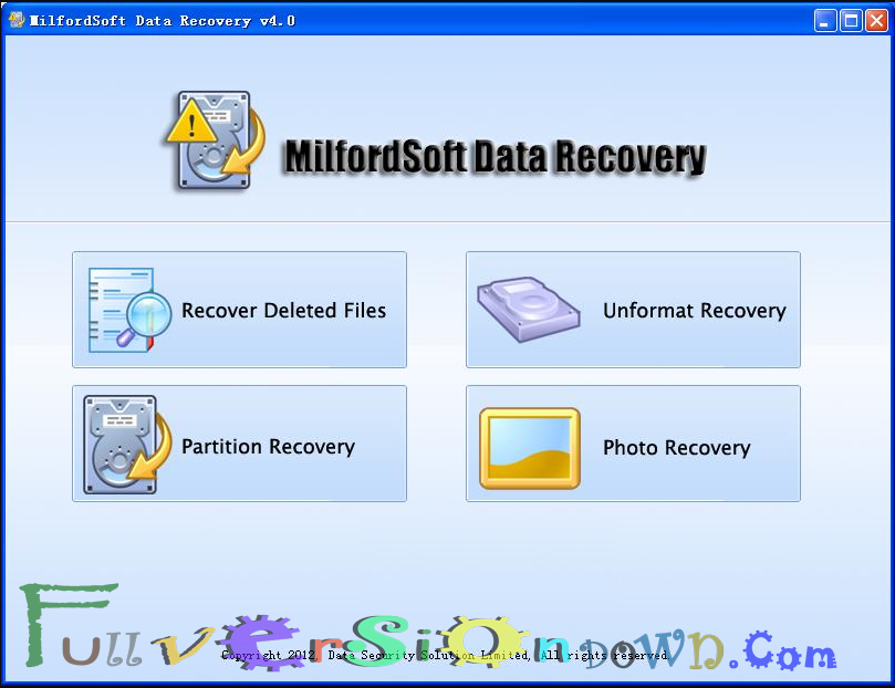 MilfordSoft Data Recovery All Editions Full Version