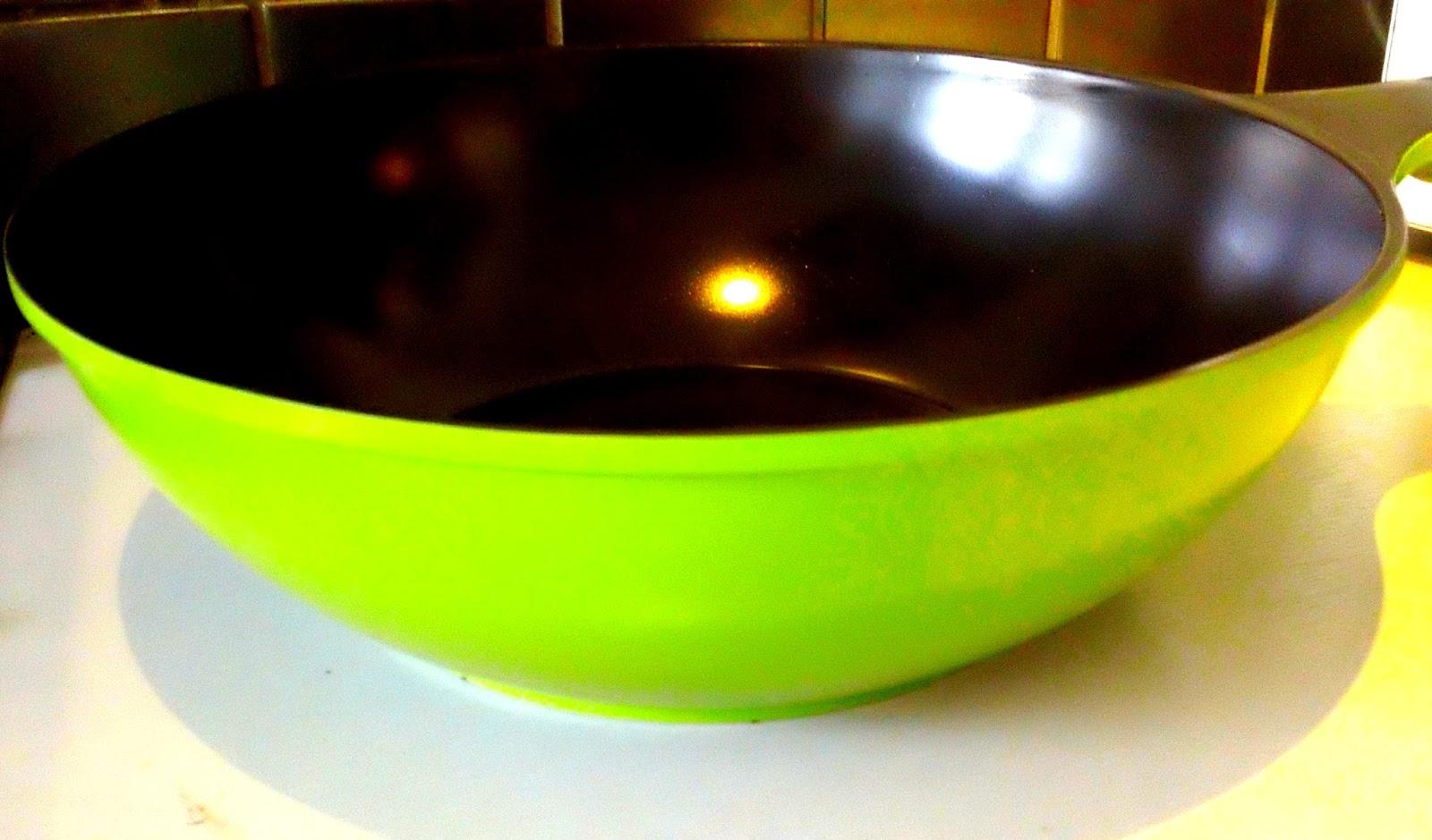Ozeri Green Earth Wok, Non stick pans, Ozeri, Ecozeri, Chinese Wok