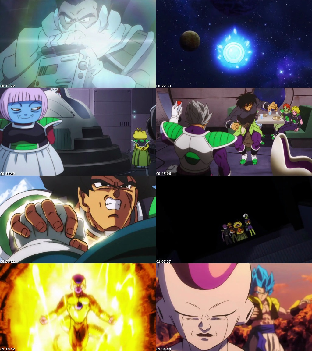 Dragon Ball Broly Full Movie: Dragon Ball Super Broly (2018) 850MB Full English Movie