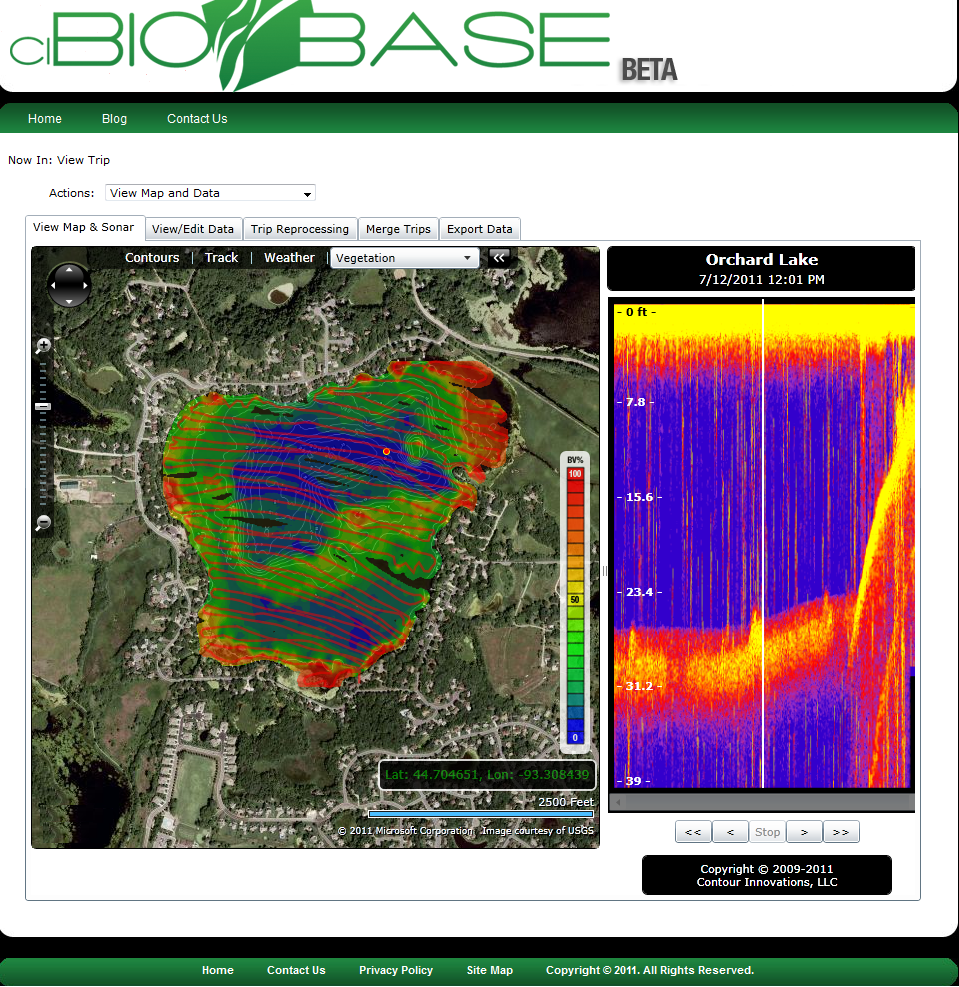 ci biobase has three main concepts 1 data collection 2 automated data processing and 3 interactive display acoustic data our subscribers collect
