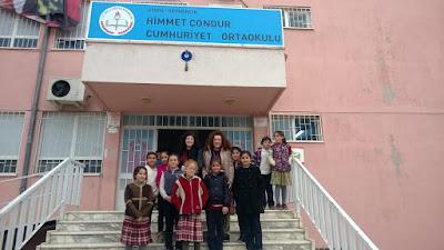 ο 7ο Γυμνάσιο σε Διακρατική Συνάντηση στην επαρχία Αϊδινίου της Τουρκίας.