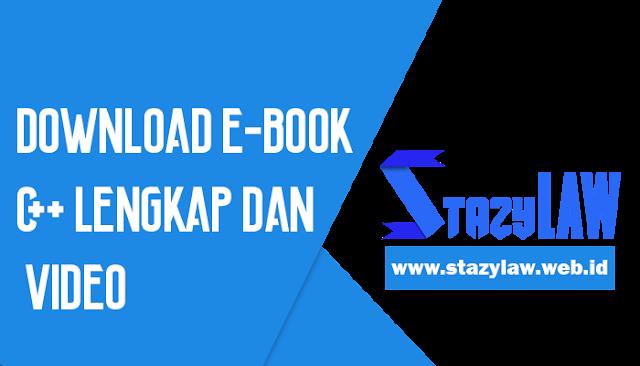 Download E-book C++ Lengkap dan Video