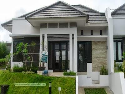 Contoh Desain rumah  minimalis 1  lantai  dan Gambar  Rumah