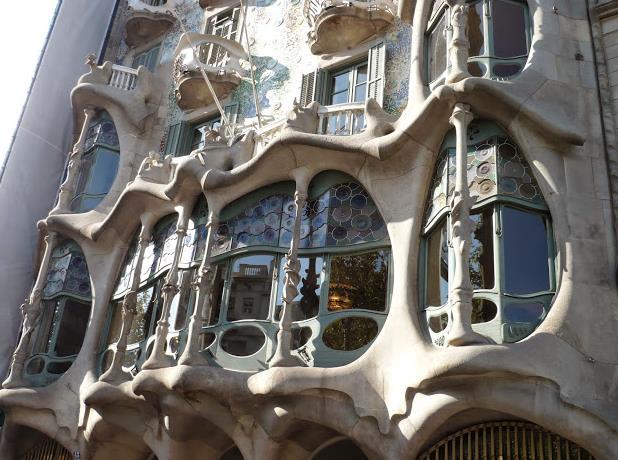 facciata di Casa Batlló