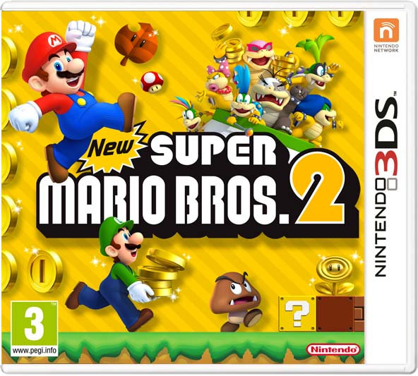Game Center: [3DS Download] New Super Mario Bros 2 Gold Edition